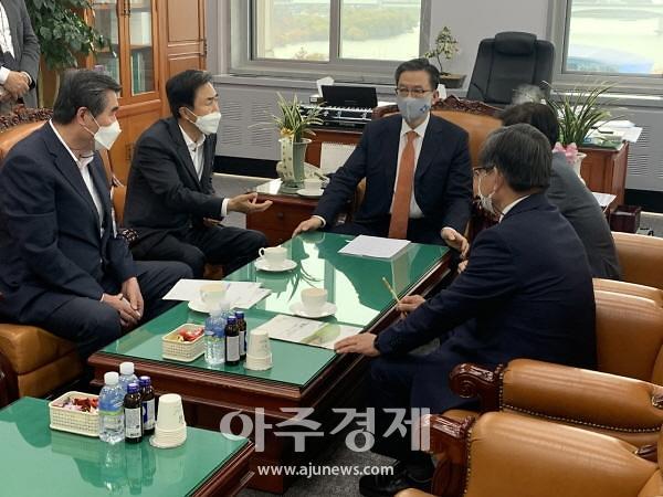 김동일 보령시장, 내년도 정부예산 확보 총력전 나섰다