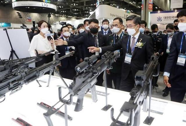 최첨단 지상무기를 한눈에...DX Korea 2020 개막