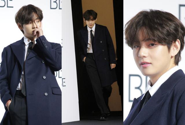 [슬라이드 화보] 방탄소년단 뷔, 비주얼이 월드 클라스