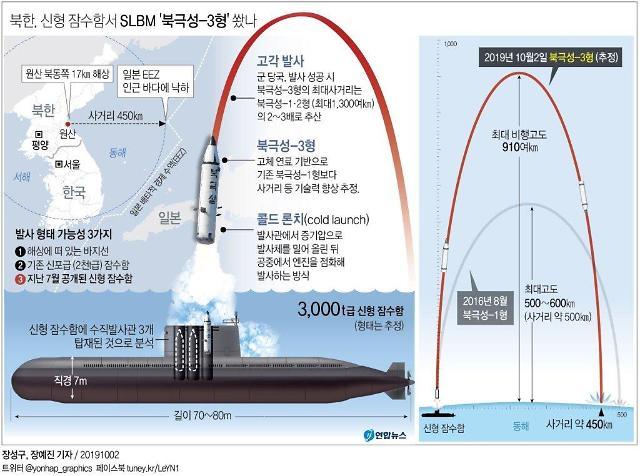 """북한, 구형 로미오급 잠수함 20척 SLBM 탑재 개조 가능...""""동시다발 발사 예상"""""""