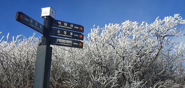 [오늘의 날씨 예보] 전국 맑고 초겨울 날씨...내륙중심 영하권