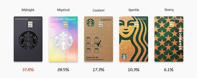 스타벅스 고객을 위한 '별 적립' 특화 카드는