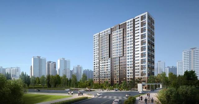 현대산업개발, 708억원 규모 상록타워아파트 리모델링 수주