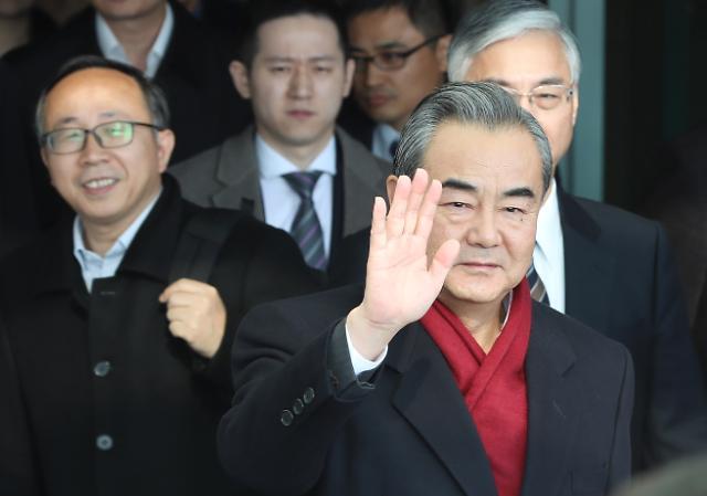 [한·중 교류 활성화] ②1년 만에 다시 韓 찾은 中왕이...시진핑 방한 논의 본격화할까