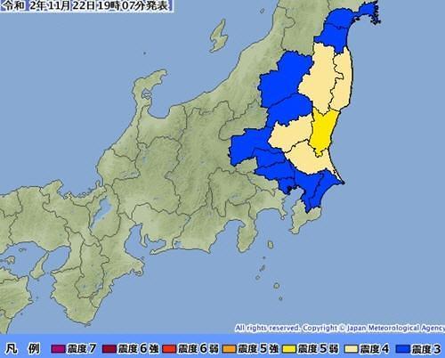 일본, 이바라키현 앞바다 규모 5.8 지진...원전 운전 일시 정지