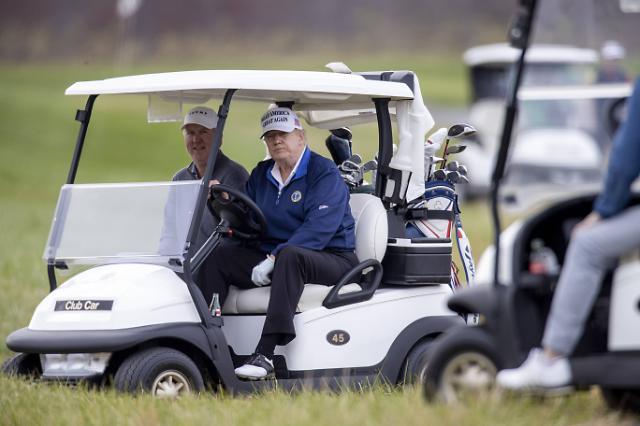 G20 2일차 트럼프, 파리기후협약 비난하고 다시 골프장으로