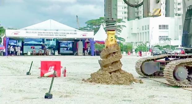 [NNA] 말레이시아-싱가포르 국경철도 착공... 2026년 완공 목표