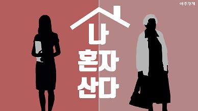 혼자 사는 여성 늘어... 그녀들의 속사정 들여다 보니 [아주경제 차트라이더]
