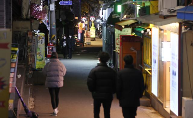 [슬라이드 포토] 24일 0시…2단계로 동면 들어간 서울