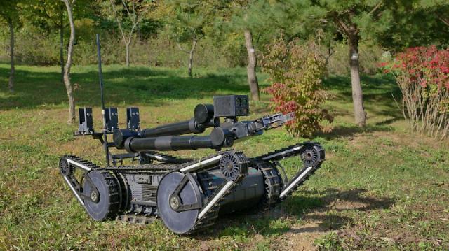 한화디펜스, 폭발물탐지제거로봇 체계개발 계약...180억원 규모