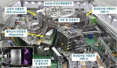 한국의 인공태양 'KSTAR' 1억도 20초 연속운전 세계기록