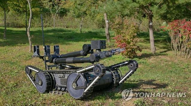 방사청, 한화디펜스와 손잡고 폭발물 탐지·제거 로봇 개발...180억 투입