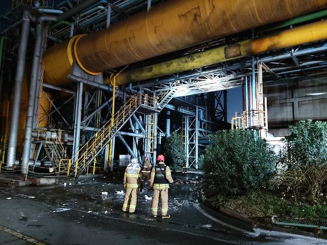 '1년 만에 폭발·굉음 또'…포스코 광양제철소 화재로 3명 사망(종합)