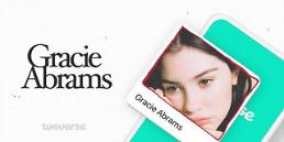 .American singer Gracie Abrams joins community platform operated by BTS agency.