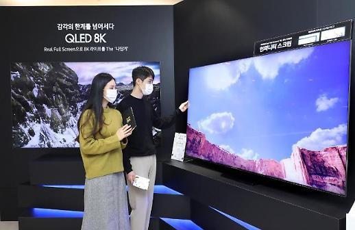 三星LG电视三季度份额称霸全球 新产品掀高端市场战局