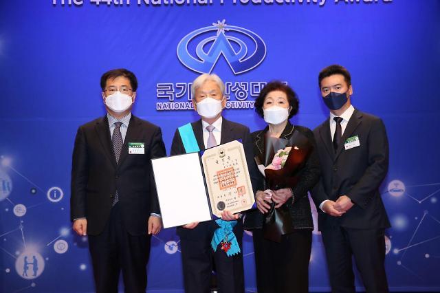 [국가생산성대회] 자동차 부품국 국산화 이동호 동희 회장 금탑산업훈장