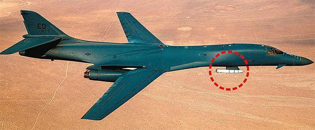 美 B-1B 랜서 370㎞ 순항미사일 재즘 장착...북한에 큰 압박