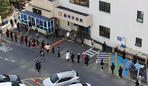 韩国新增583例新冠确诊病例 累计3.2318万例