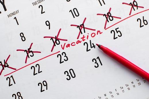调查:韩国过半数职场人士用不完今年年假