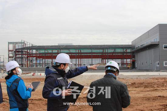 안전보건공단 경기서부지사, 건설현장 동절기 사고사망예방 합동점검