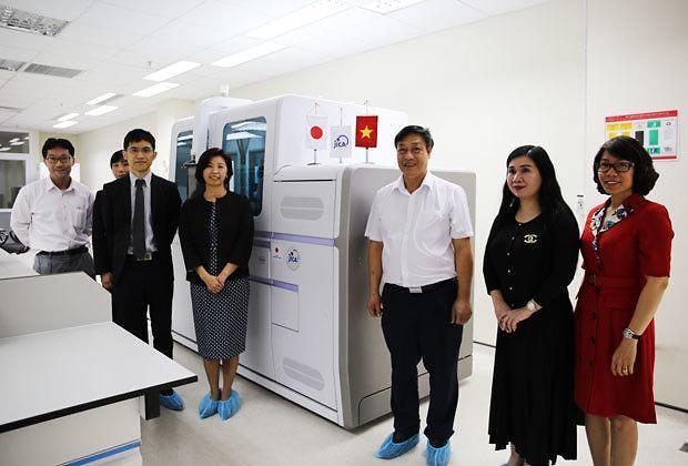 [NNA] JICA, 베트남 국립병원에 자동 PCR 검사기 제공