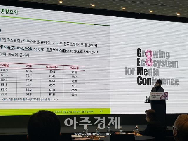 """""""IPTV, 향후 3년간 계속 이용…사회적 공유가치 창출해야"""""""
