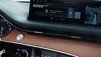 Mẫu SUV hạng sang mới của Hyundai có hệ thống thanh toán kỹ thuật số trong xe bằng vân tay