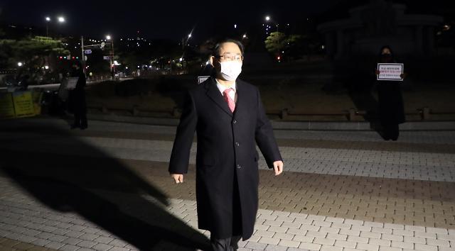 """주호영 """"文정권 면책특권 완성 순간 공화정 무너질 것"""""""