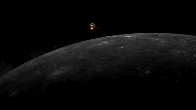 [중국포토]中 무인 달탐사선, 달 궤도 진입 성공