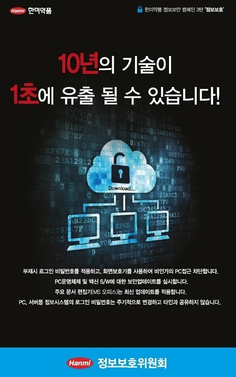 한미약품, 제약·바이오 업계 첫 K-ICT 정보보호 우수상 수상