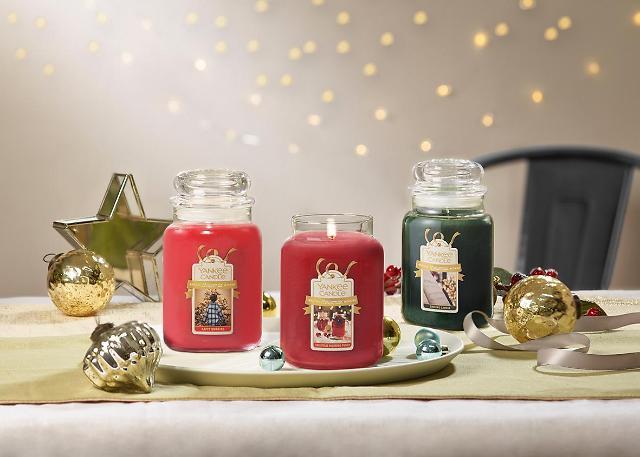 양키캔들, 겨울 신향 6종 론칭…마법같은 크리스마스 향