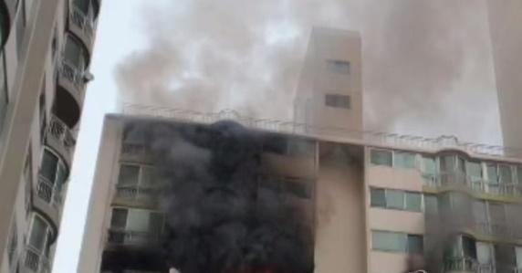 산본 아파트서 화재...2명 추락해 사망