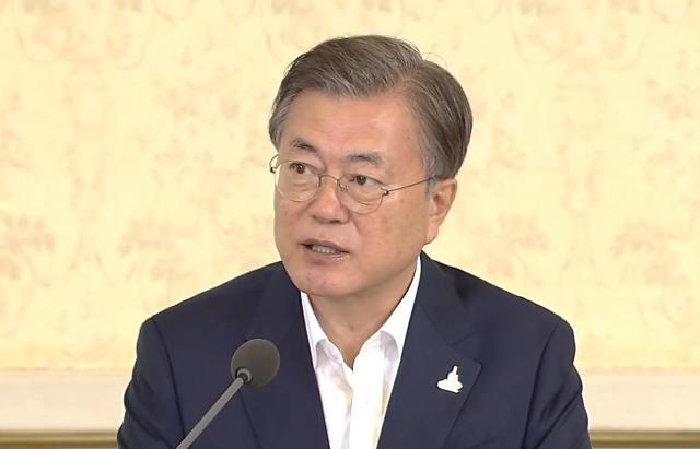 """文대통령 """"韓 국민, 정부의 공정함 믿고 코로나 속 일상 지켰다"""""""