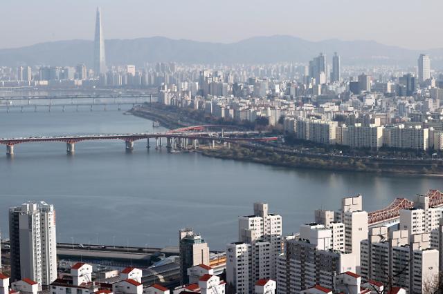 上月首尔全租房价环比上涨14万元