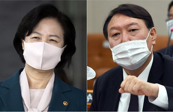 정치권, 연일 秋·尹 사퇴 요구…물 건너간 동반사퇴에 징계위 촉각