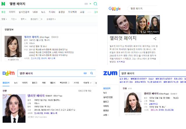 엘렌 페이지→엘리엇 페이지... 포털, SNS, 영화 크레딧까지 일제 변경