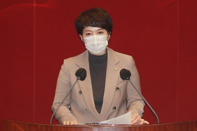 """野김은혜 """"백척간두 추미애, 진일보 하면 추락"""""""