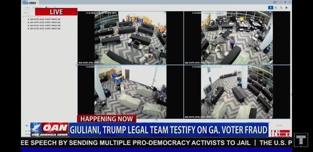 米大統領選、ジョージア州で動かぬ証拠・・・「集計所の監視カメラ映像公開」波紋