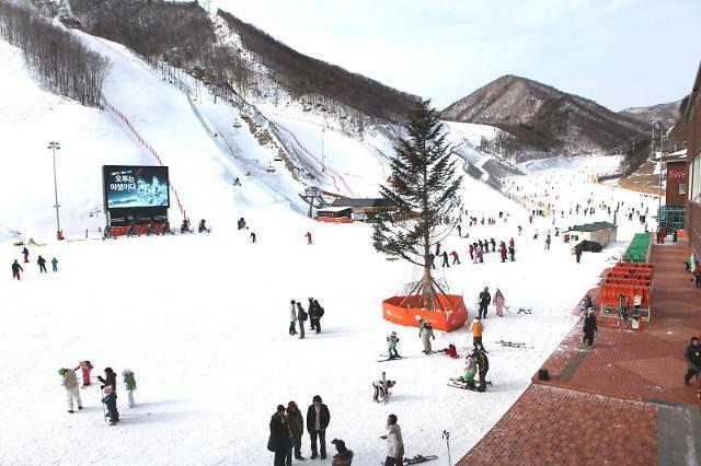 부영그룹 오투리조트 스키장 5일 개장…스키장 내 거리두기 실시