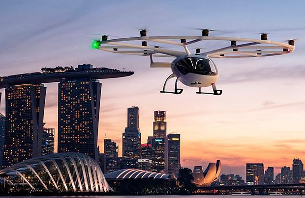 [NNA] 볼로콥터, 3년 내에 드론택시 사업 개시