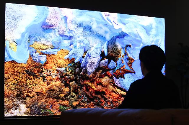 Samsung Electronics unveils 110-inch home microLED TV in S. Korea