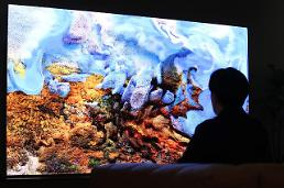 .Samsung Electronics unveils 110-inch home microLED TV in S. Korea.