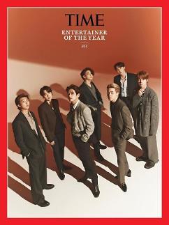 BTS当选《时代周刊》评选年度最佳艺人 距离格莱美仅一步之遥
