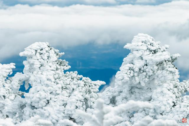 韩国四大国立公园雪景