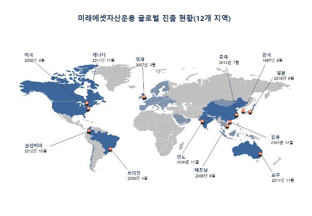 [2020 아주경제 금융증권대상] 펀드운용 부문 대상 미래에셋자산운용, 해외 진출·신개념 상품 개발로 펀드시장 선도