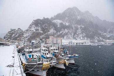 [광화문갤러리] 눈 내리는 울릉도의 겨울