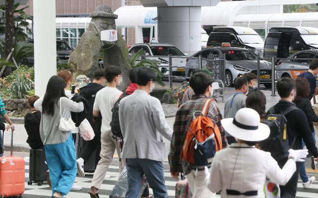 统计:新冠疫情下韩济州岛游客锐减