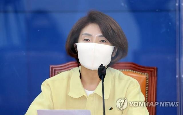 """한정애 """"대북전단금지법, 이명박‧박근혜 정부서도 있었다…국론 분열 말아야"""""""