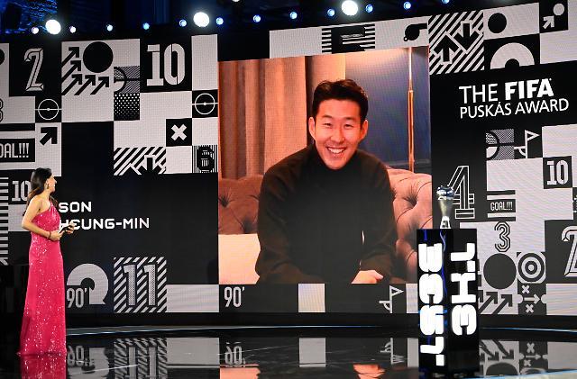 [종합] 손흥민이 해냈다! 韓 최초 푸스카스상 수상…최고의 남자 선수는 레반도프스키