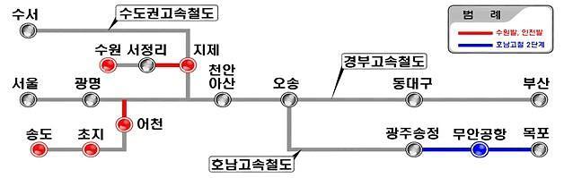 호남고속 2단계, 인천·수원발 KTX 공사 본격 추진…연내 착공